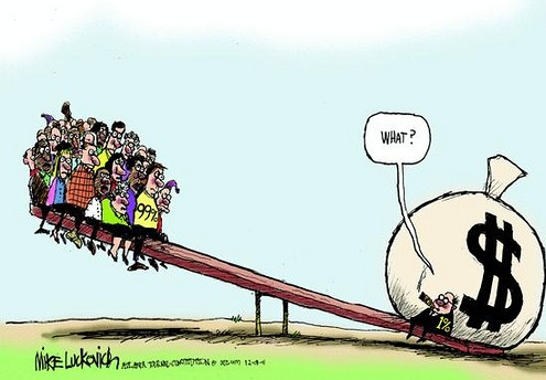 o custo da desigualdade